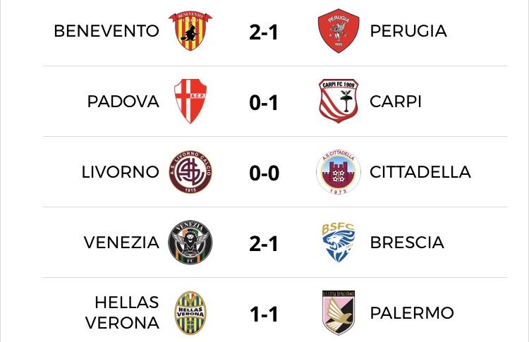 Serie B I Match Di Oggi E I Risultati Di Ieri Hellas News